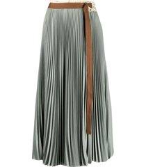 alysi belted skirt