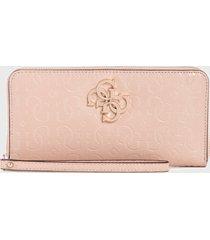 billetera  chic shine  rosado guess