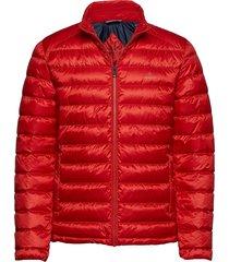 d1. the light down jacket fodrad jacka röd gant