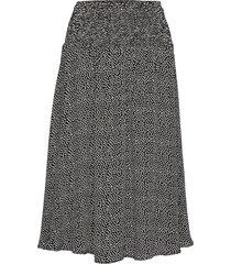 sondra skirt knälång kjol svart masai