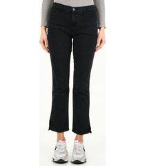 j brand bootcut black denim jeans