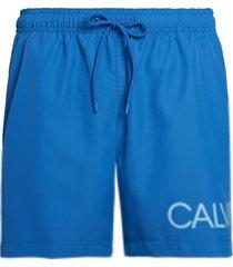calvin klein heren zwembroek drawstring - imperial blauw-m