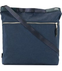 as2ov square shoulder bag - blue