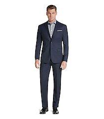 travel tech slim fit micro stripe men's suit separate jacket by jos. a. bank
