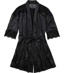 kimono (nero) - bodyflirt