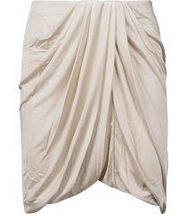 isabel marant draped short skirt