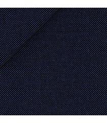 pantaloni da uomo su misura, loro piana, natural stretch blu occhio di pernice, quattro stagioni