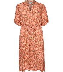 klänning jrlaya 2/4 sleeve midi dress