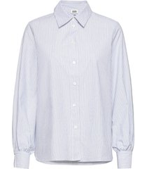 sophie stripe shirt overhemd met lange mouwen blauw twist & tango