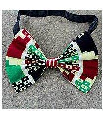 cotton bow tie, 'merema' (ghana)