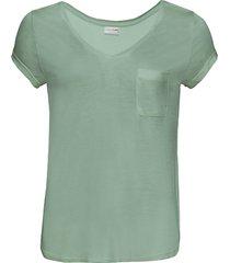 maglia con taschino (verde) - bodyflirt