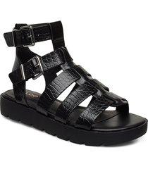 glassy shoes summer shoes flat sandals svart aldo