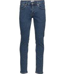 5 pocket stretch essential blu slimmade jeans blå lindbergh