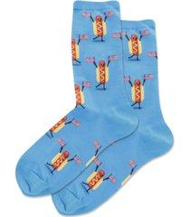 hot sox hot dog crew socks