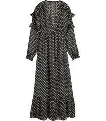 maxi jurk feminini zwart