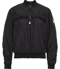 jacket bomberjacka svart replay