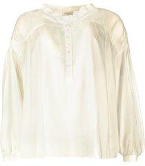 tencel blouse gemma  wit