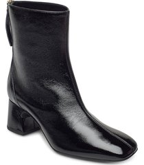 moncada_pcr shoes boots ankle boots ankle boot - heel svart unisa
