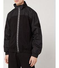 mcq alexander mcqueen men's logan jacket - darkest black - xl