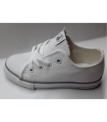 zapatilla blanca grow  walk lona