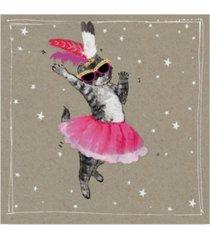 "hammond gower fancy pants cats v canvas art - 20"" x 25"""