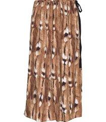 treviso knälång kjol brun by malene birger