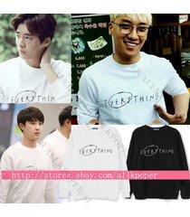kpop bigbang seungri sweater everything hoodie exo d.o sweatershirt new album