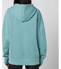 isabel marant étoile women's mansel sweatshirt - light petrol - fr 40/uk 12
