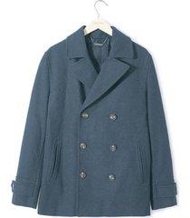 chaqueta abrigo para hombre - azul