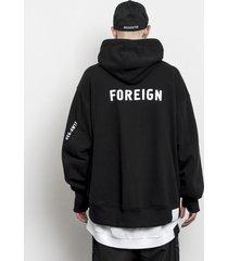 bluza z kapturem foreign hoodie