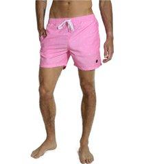short de baño rosa topper slim