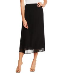 cece pleated midi skirt