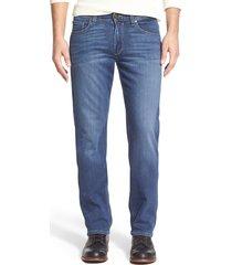 men's paige transcend - normandie straight leg jeans