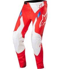 pantalon supertech 2019 rojo alpinestars