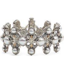 women's konstantino thalia pearl cuff bracelet