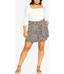 plus size prowess shorts