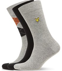hewie underwear socks regular socks grå lyle & scott