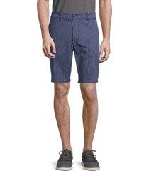 joe's jeans men's the trouser striped shorts - navy stripe - size 32