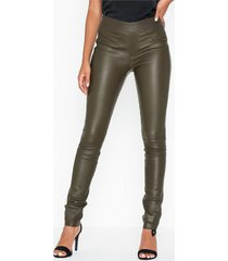 helmut lang leather legging.str1 leggings