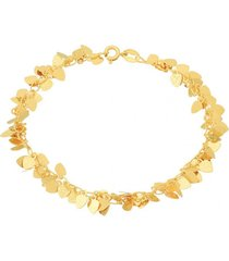 pulsera ipanema oro laminado dorado vanité