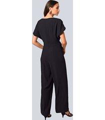 jumpsuit alba moda svart