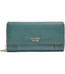 guess womens green wallet