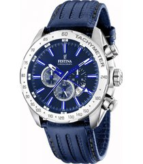reloj chrono sport azul festina