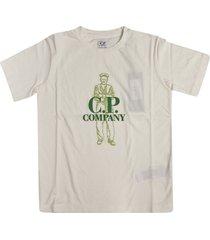 c.p. company mid logo print t-shirt