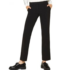 pantalon casual negro esprit