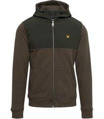 vest lyle scott softshell jersey zip hoodie