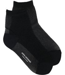 junya watanabe logo-print ankle socks