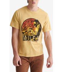 lucky brand men's miles davis t-shirt