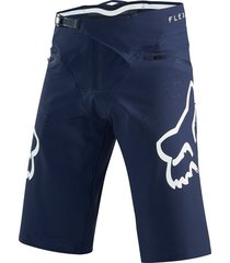 pantaloneta bermuda fox ciclismo mtb downhill enduro mx  color azul