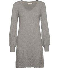 sim dress knälång klänning grå odd molly